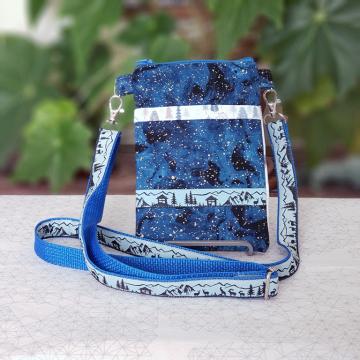 Blue Mountain Goat Bag