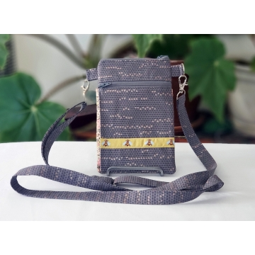 Gray Bees Bag